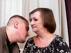 Ugly granny gets fucked pretty hard