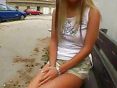 Stunning teen girl