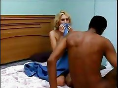 Blonde Enjoys BBC Jamaican While Hubby goes to Snack Bar!