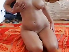 She Strips and Lotion Rub