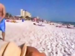 Exgirlfriend naked at the beach dare