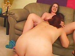 Venus And Victoria Experiment With dildo