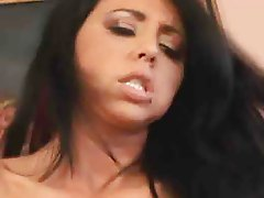 An amzing hot chick being fucked