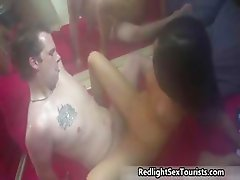 Hot Dutch prostitute with big tits gets part1