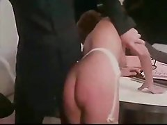 French mature is spanked