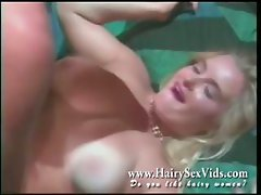Hairy sex in seventies style