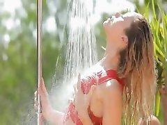 Hot grass splash and unique body