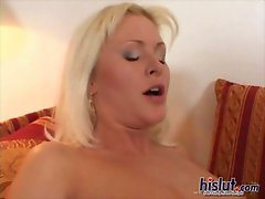 Kathy Anderson is a beautiful blonde slut that has big