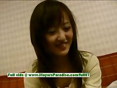 Saori innocent naughty chinese girl is talking about sex