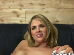 Busty Katie Kox Fucked by a Black Cock