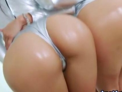 Big ass sluts with big asses fucking in a threeway