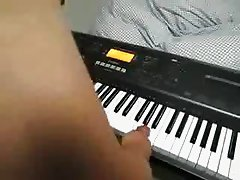 Piano played with my cock