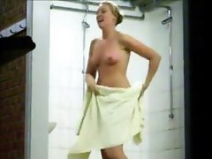 Voyeur Watches This Chick In The Shower