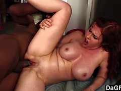 Nympho fucked in her boss at work