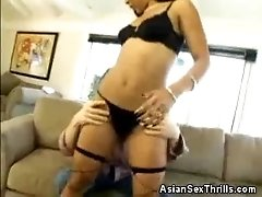 Asian Max Mikita Shows Off Her Ass
