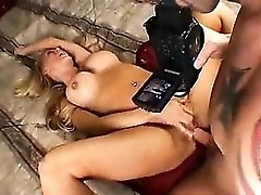 Mif with marvelous tits and belly button pierced boned