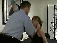 Sexy maid fucked by the man of the house
