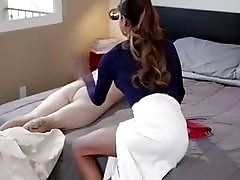 T-girl gets spanked and fucked in hardcore fashion