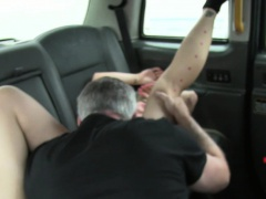 Busty tattooed amateur taxi slut from england