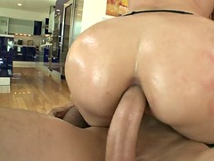anal slut sheena ryder lets him ram his fat rod in her tight anal hole