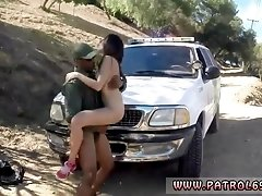 Fake police officer xxx Latina Babe Fucked By the Law