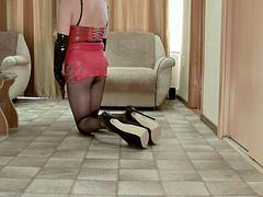 extreme heels posing