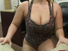 Big boobs and big ass woman hard fucked
