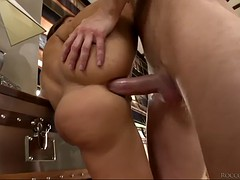 brutal fella fucks tina hot and roxana b and watches them cum swapping