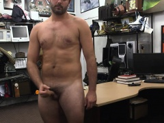 Real pawnbrokers film client jerking off