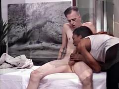 white dude chad diamond wants ladyboy natassia to suck his hard cock