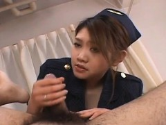 Rio Sakaki has hairy snatch licked and fucked