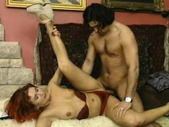 naughty-hotties.net - Redhead German housewife