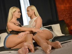 Czech blondes slow intimate orgasms