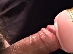 Fleshlight hard fucking uncut penis penis shaved balls