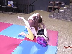 Girls wrestling - submission