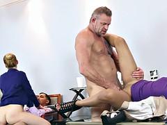 In dads sexy seductive secretaries