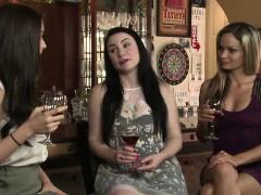 Lana fucks her lesbian friend Veruca