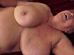 mature grandma tit fucks