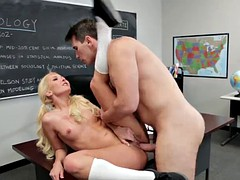 Teacher seduced and fucked her student