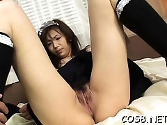 Wicked oriental maid sex scenes in cosplay xxx play