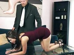 Blair Summers dominated and pussy nailed