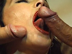 czech catherine hard dp a2m fuck