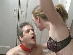 MISTRESS T Cuckold Cum CleanUp Compilation!