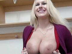Czech babe in skating rink anal banged