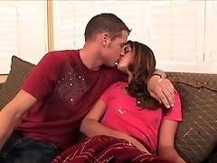 Allie Haze Hot teen swallowing thick cock