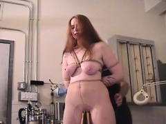 Mature doxy enjoys getting her tits squeezed