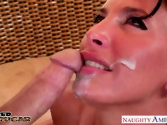 Huge-Chested milf Lezley Zen gets penetrated and facialized