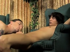 Hot gay Danny Brooks wants fresh employee Jacob Marteny to h