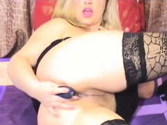 Chubby Blonde Cam Slut