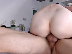 fresh porn slut riylee renee rides him like a cowgirl